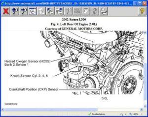 2002 Saturn L300 CRANK SENSOR: My L300 Died at An Intersection It