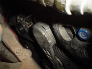 Serpentine Belt Removal: Engine Mechanical Problem 6 Cyl Two Wheel