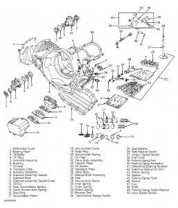 1998 Dodge Avenger Transmission Control Solenoid: Where Is