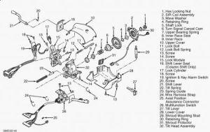1998 Chevy Suburban TILT WHEEL: THE ADJUSTMENT ON MY TILT