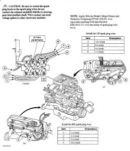 1997 Mercury Mountaineer Firing Order: Electrical Problem