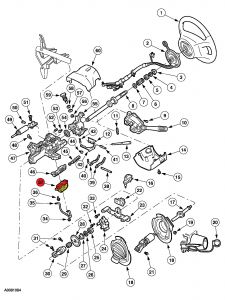 2005 Ford Taurus How to Replace An Ignition Switch