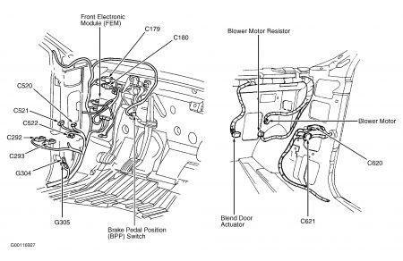 2000 ford windstar 2000windstar blend door motor had the