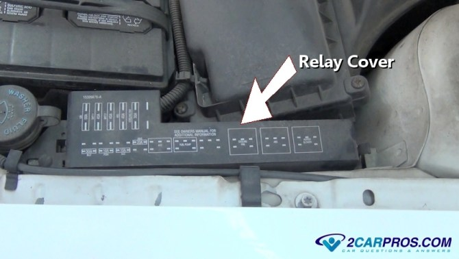 how to test an automotive relay