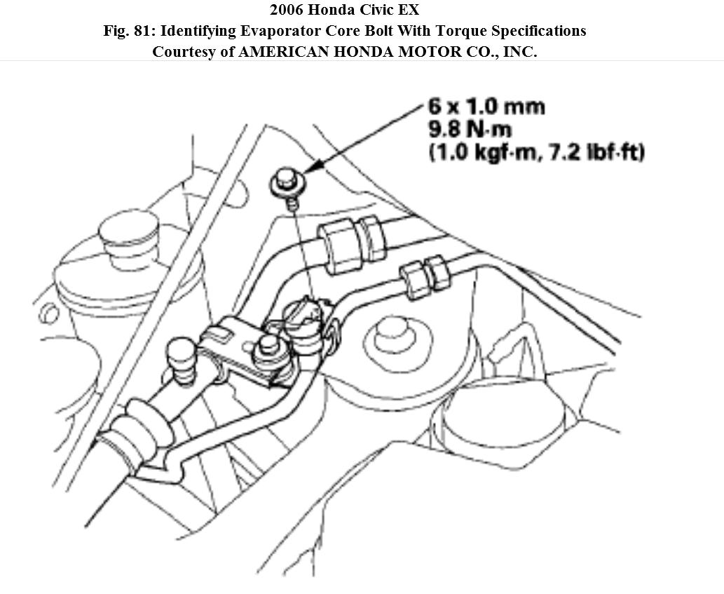 Evaporator Core In A Honda Civic How Do You Replace