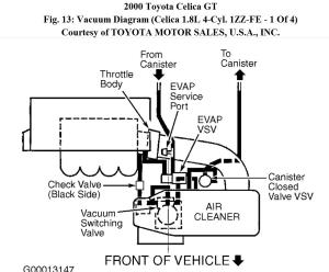 I Am Looking for a Vacuum Hose Diagram to See if I Put Them in