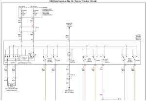 2002 Kia Spectra Window Problem: I Have a 2002 Kia Spectra GSX,