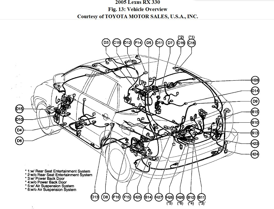 Diagram Lexus Rx330 Fuse Box Diagrams Full Version