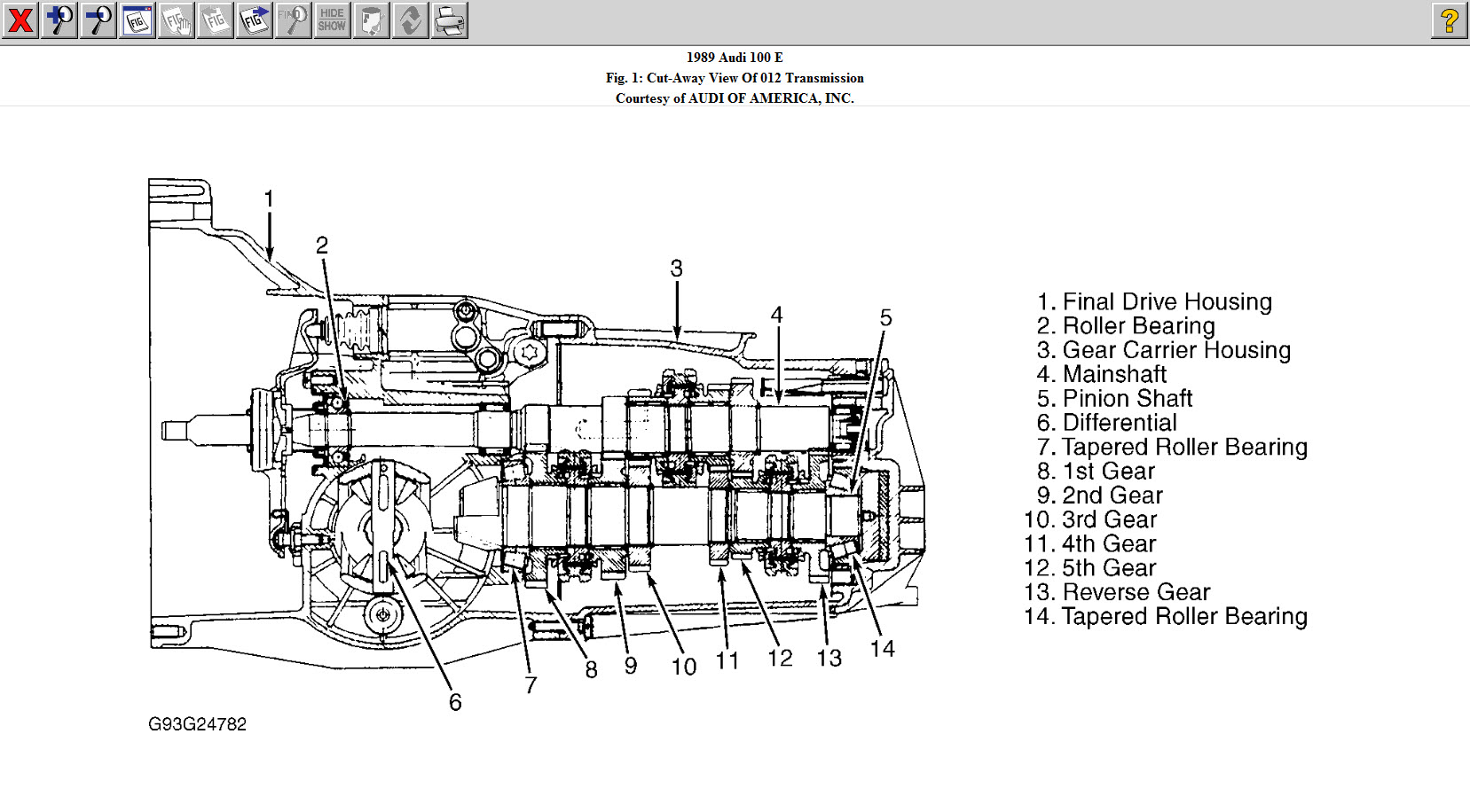 Wanting To Identify This Audi Transaxle 013 301 211g088 409