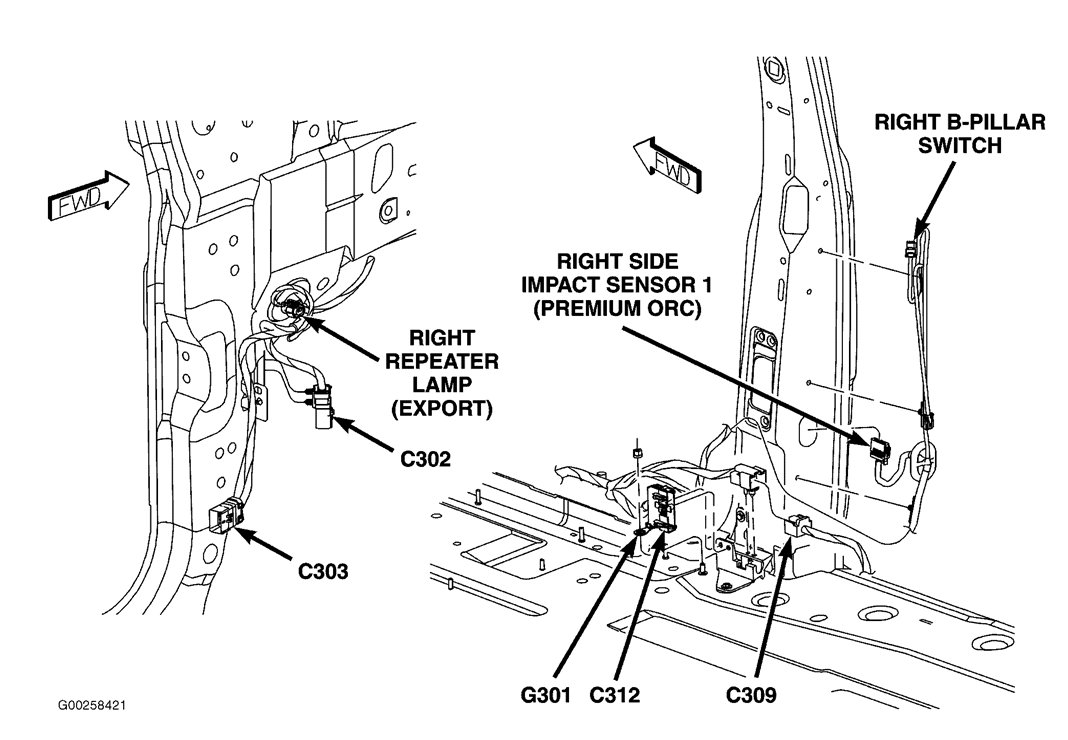 Chrysler Town And Country Wiper Diagram