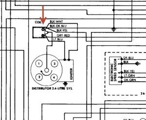 1985 Chrysler New Yorker Coil Wiring Diagram: 1985