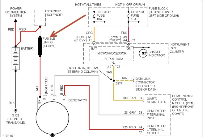 diagram 1998 pontiac sunfire plock 1 system wiring diagram