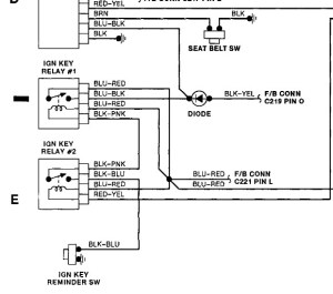 Where Is the Diode That Controls the Ignition Key Relay in