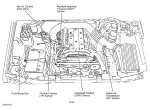 Crankshaft Position Sensor Location Diagrams Wiring