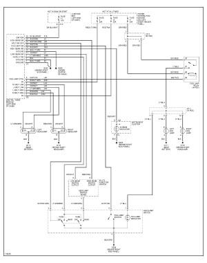 2001 Dodge Dakota Headlight Switch: the Headlights Have An