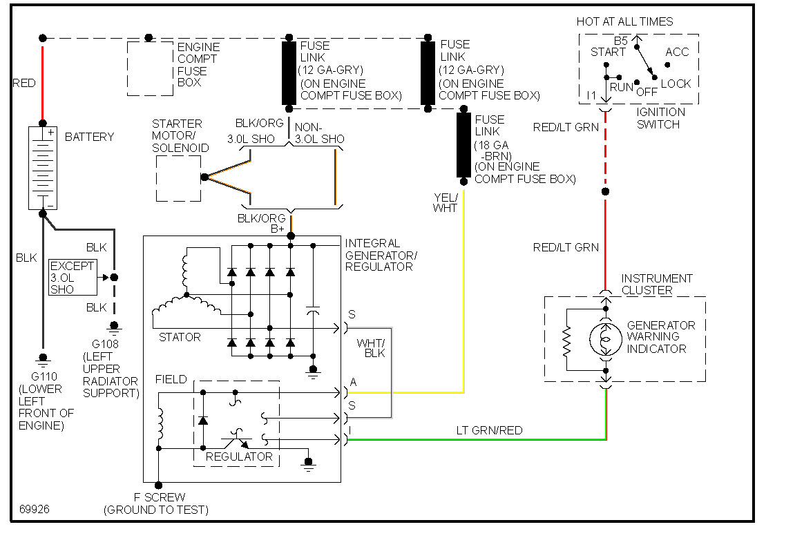 95 Tauru Wiring Diagram