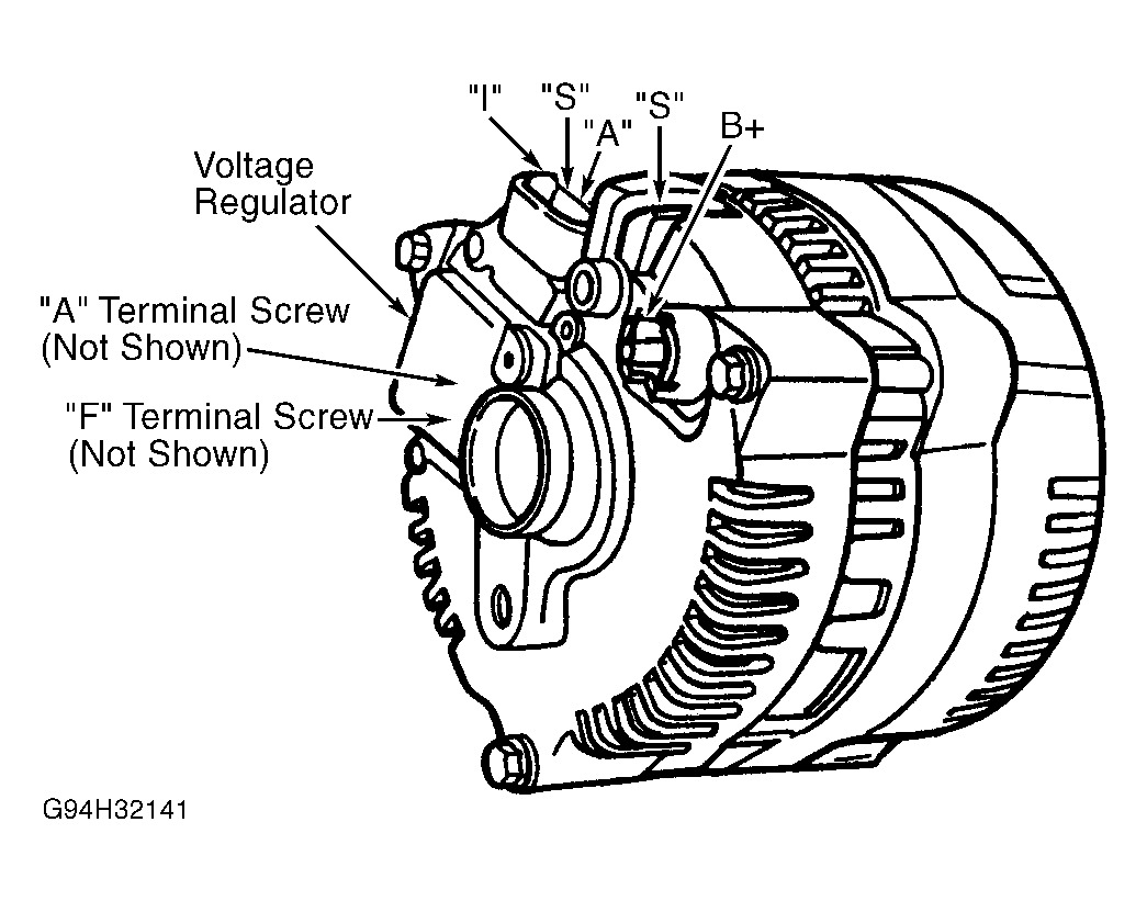 Charming 1998 ford taurus alternator wiring diagram gallery best