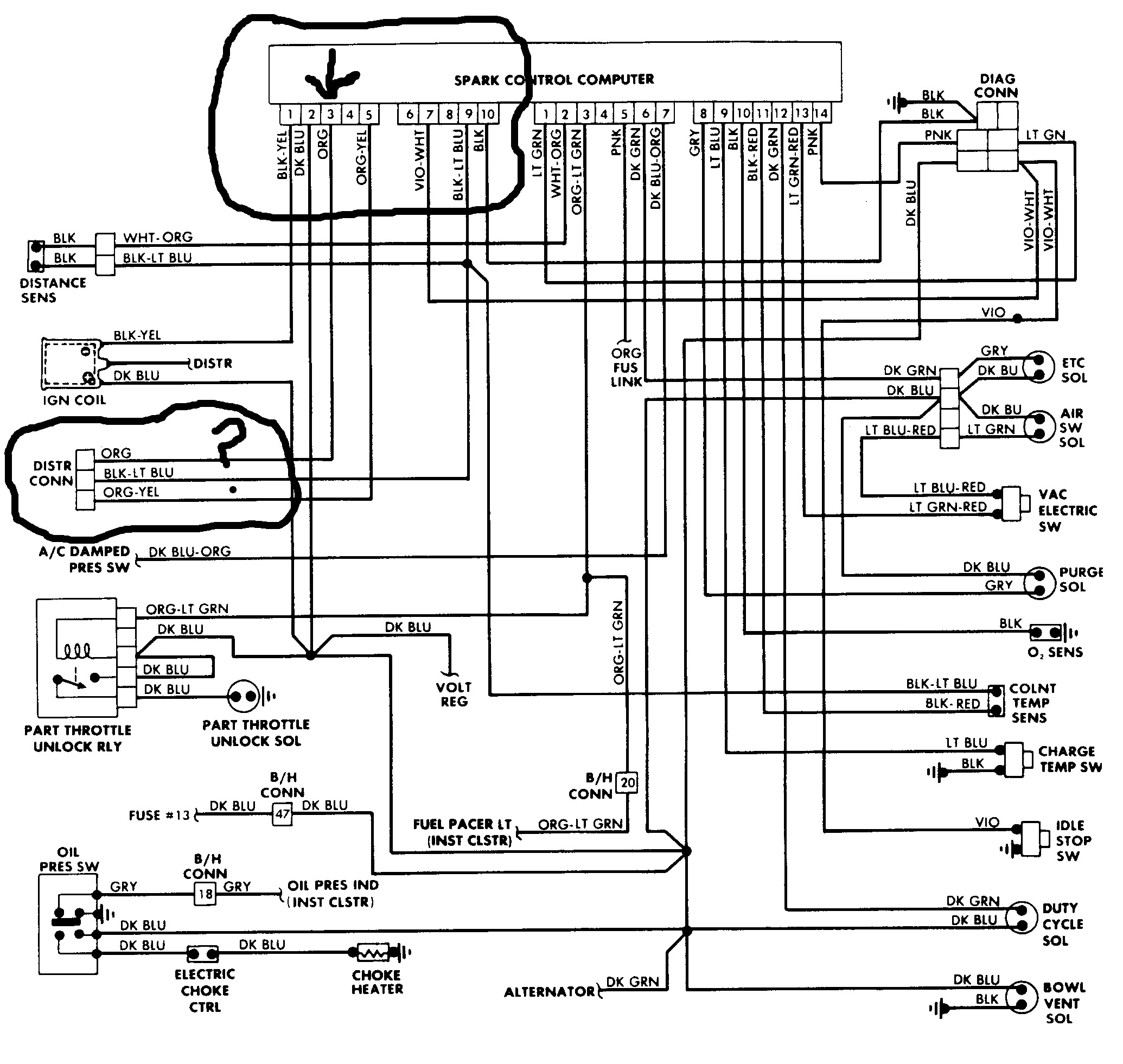 70s Dodge Coil Wiring Diagram