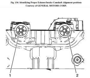 2009 Chevrolet Malibu Timing Chain Diagram: Timing Chain
