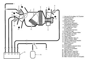 S10 Blend Door Actuator Location  Wiring Diagram And Fuse Box