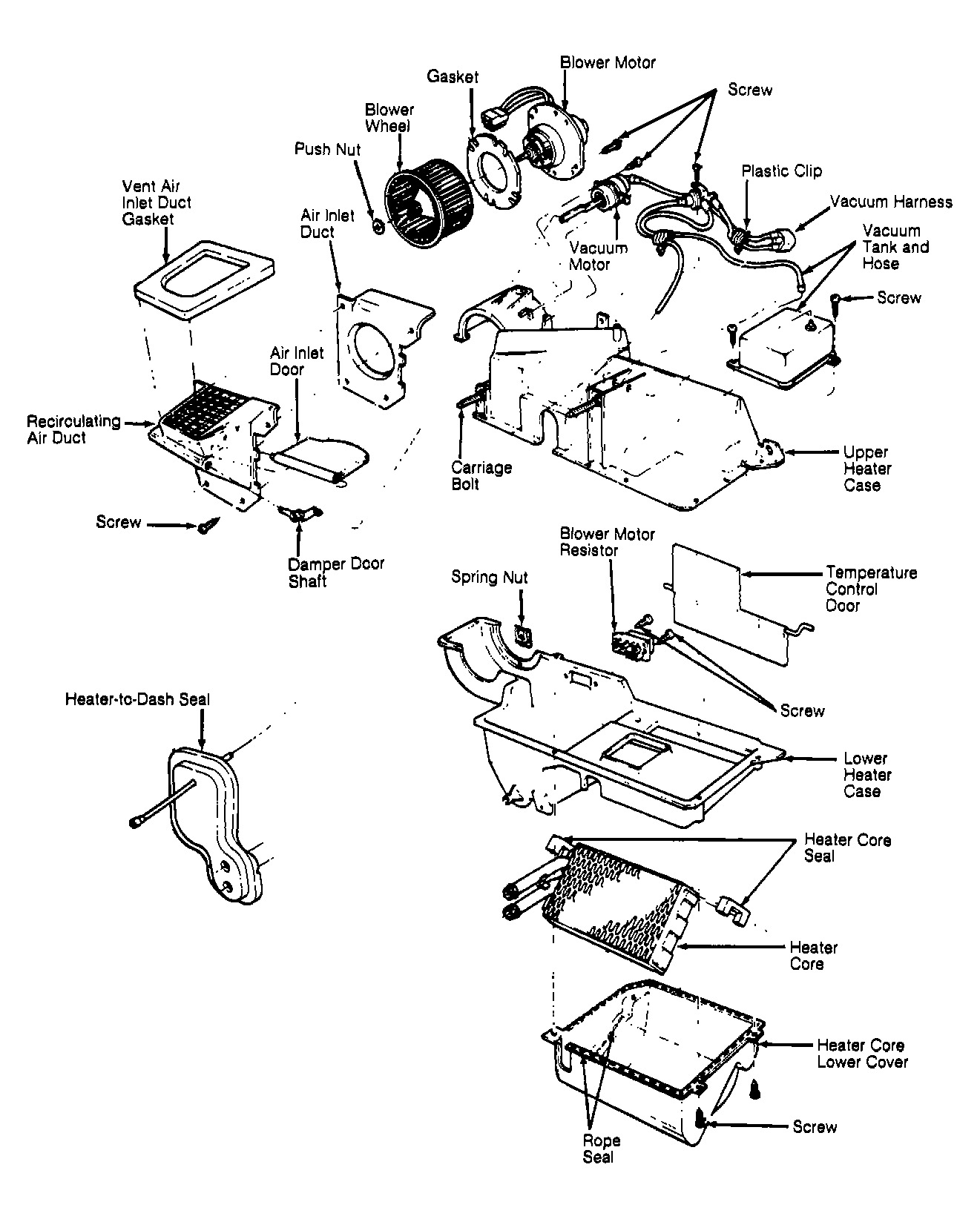 Ford tempo turbo wiring diagrams