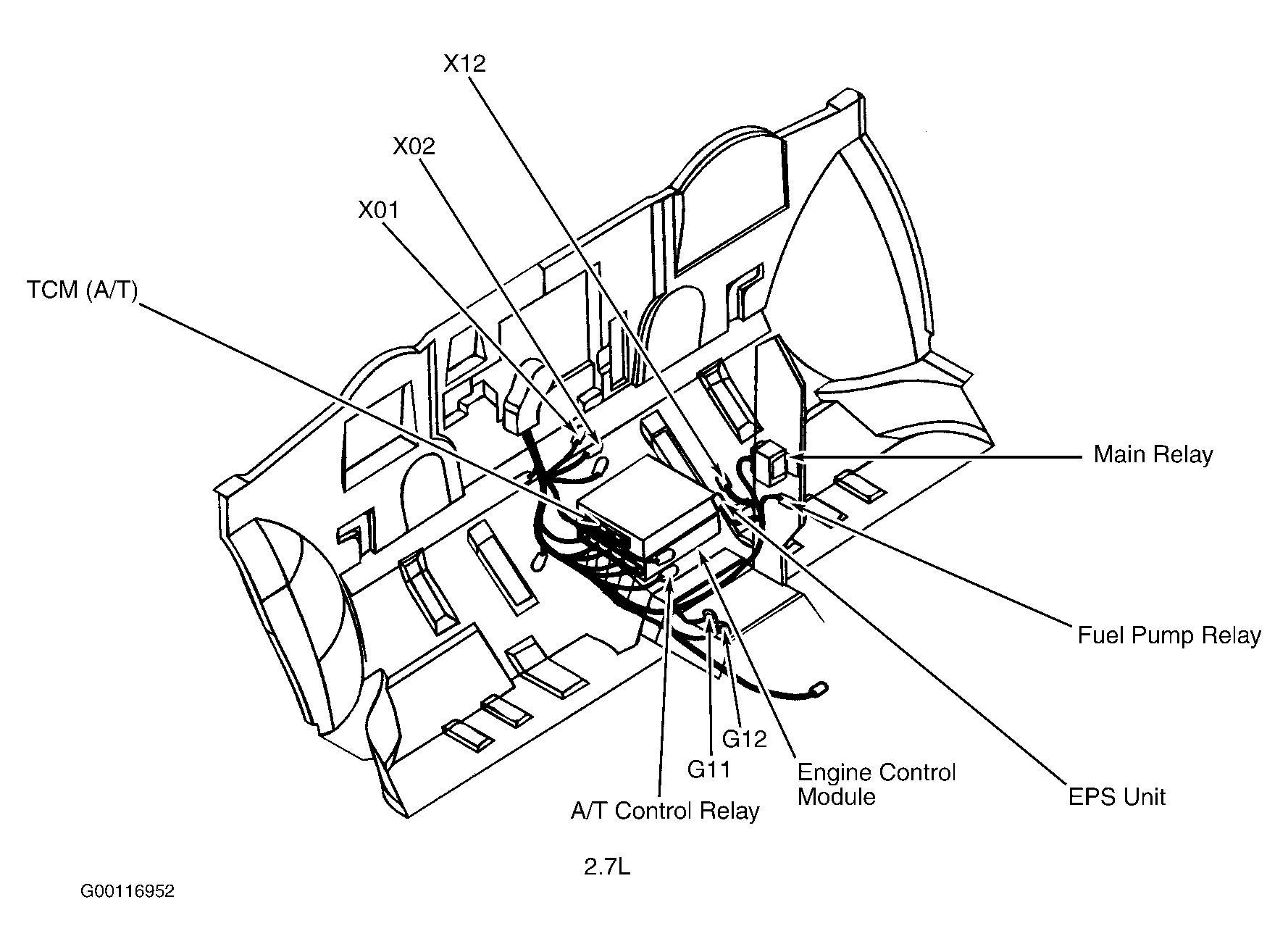 Kia Sorento Airbag Diagram