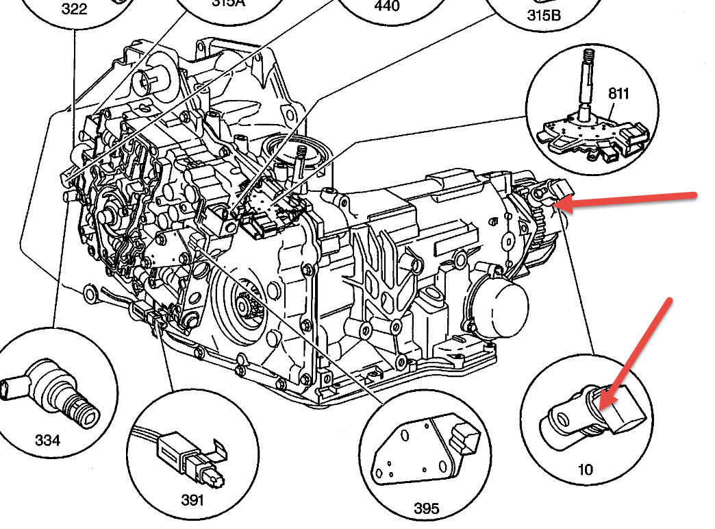 Chevy Venture Transmission Diagram