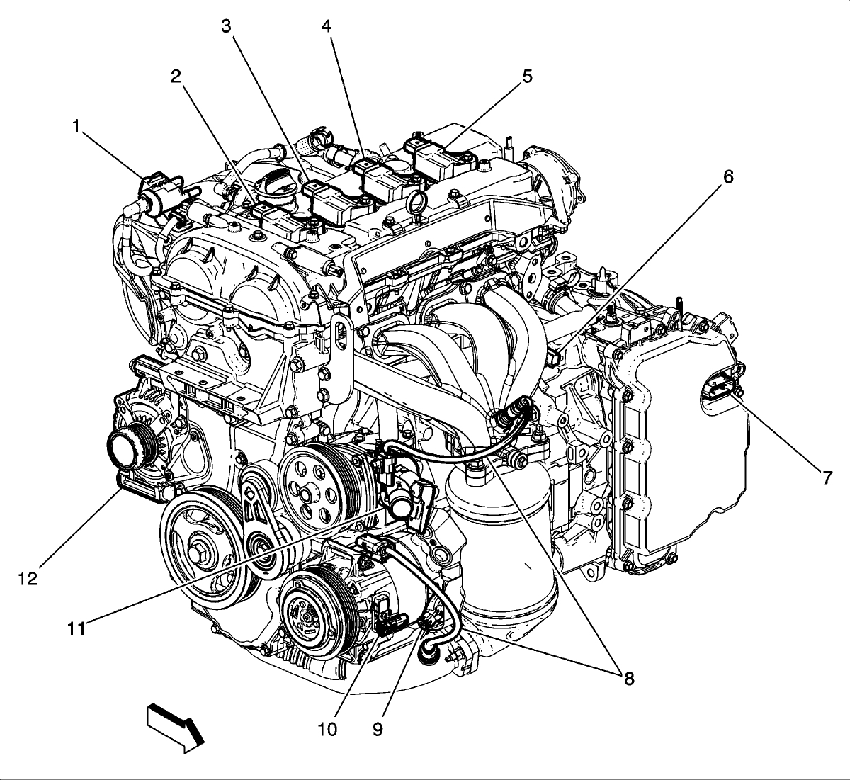 Chevy Malibu Engine Sensor Diagram