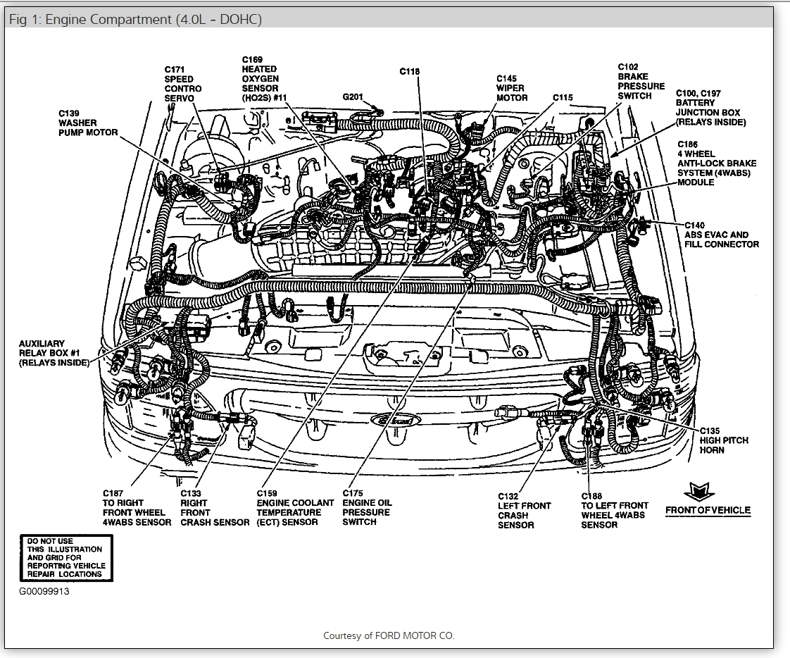 Mercury Mountaineer Fuel Wiring Diagram