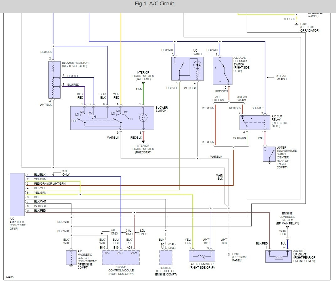1999 Toyota Camry Electrical Diagram – 1999 Toyota Corolla Wiring Diagram