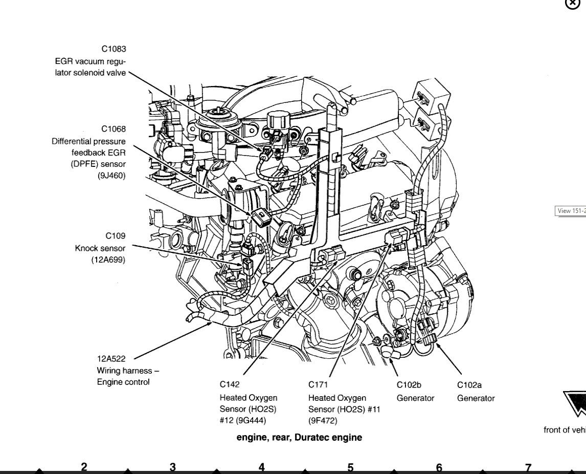 Escape V6 Engine Diagram
