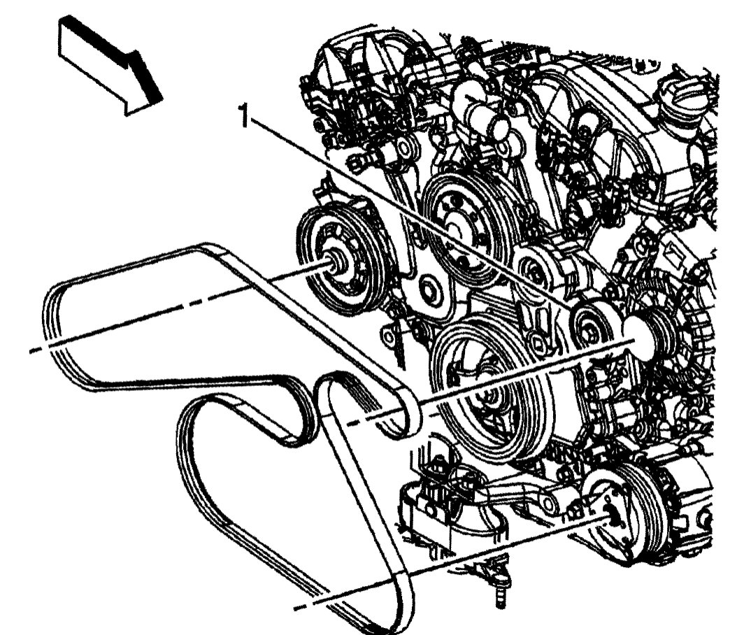 Saturn Outlook 3 6 Serpentine Belt Diagram
