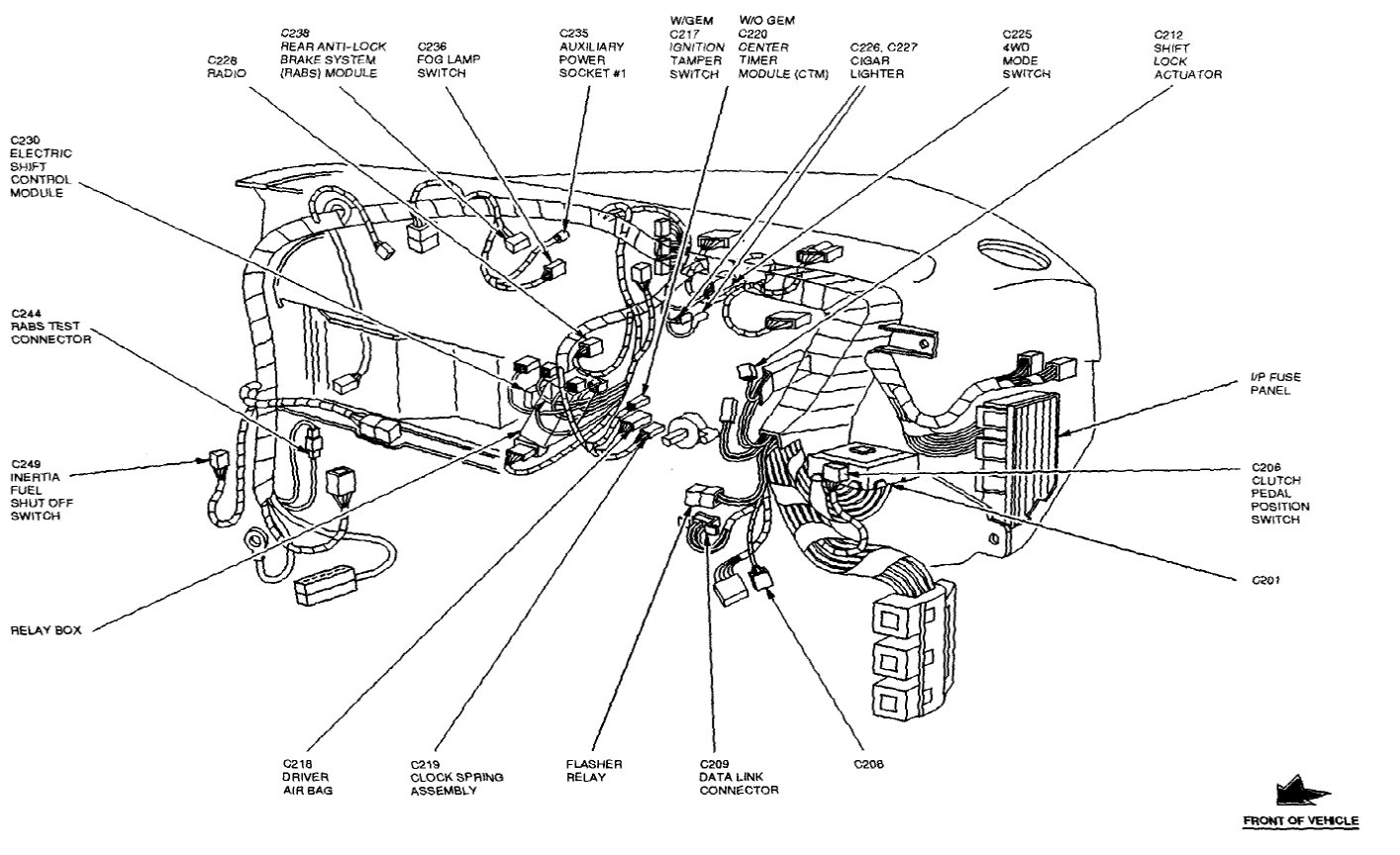 Wiring Schematic For Ford Explorer Horn