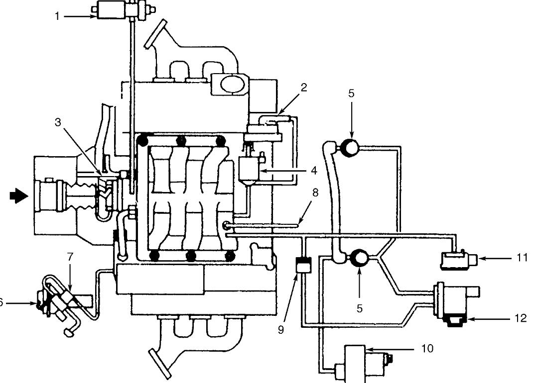 Vacuum System Diagram Needed Replacing Vacuum Pipes As