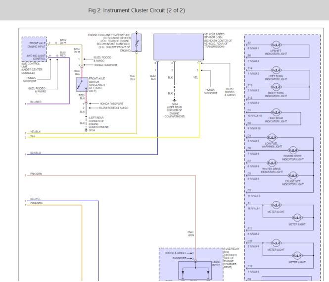 100+ [ isuzu rodeo fog light schematic ] | 2001 toyota tacoma, Wiring diagram