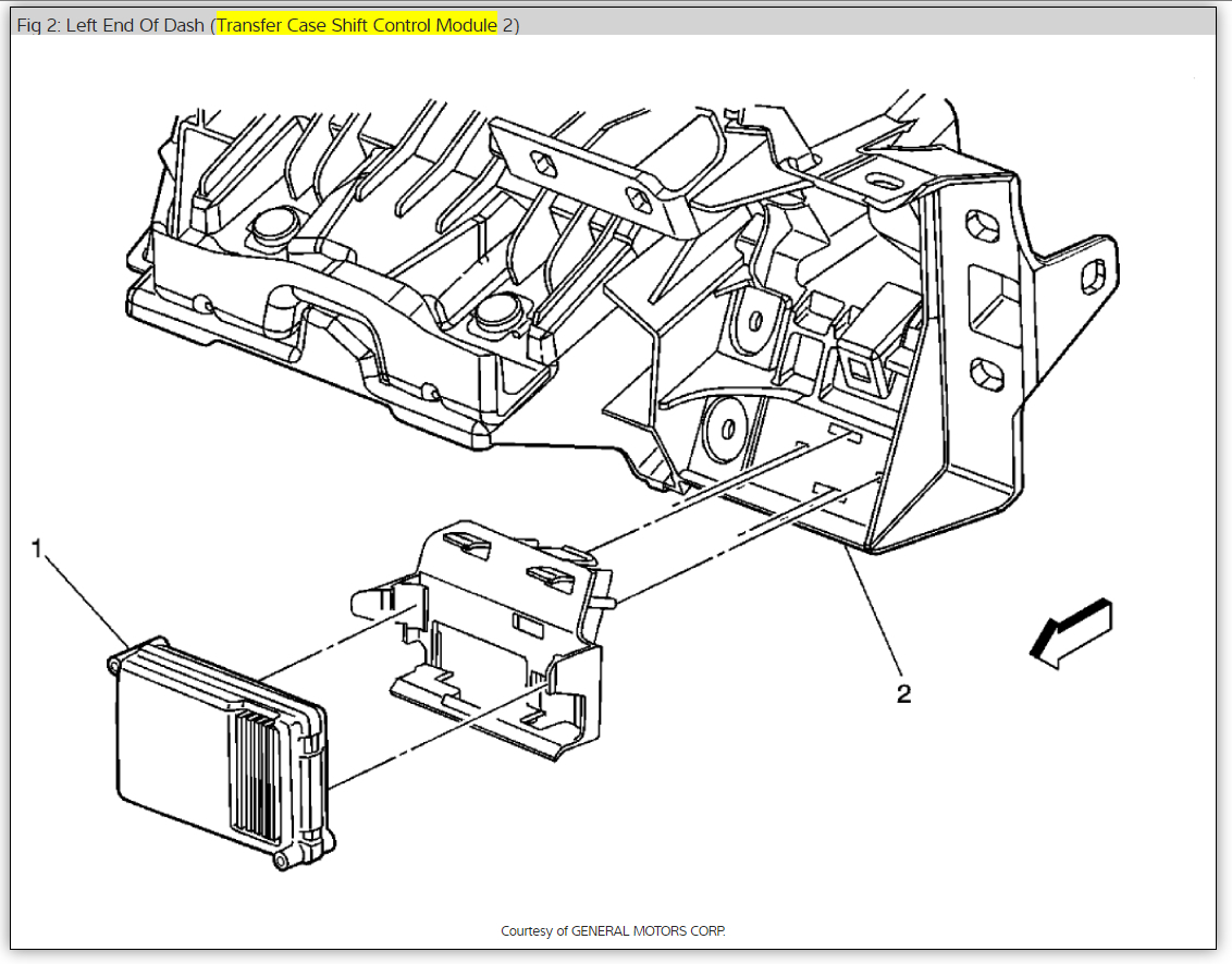 Repairing A Tranfer Case Control Module Four Wheel Drive
