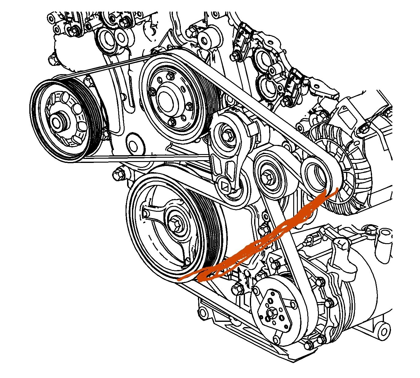 Serpentine Belt To Bypass A C I Would Like To Know If