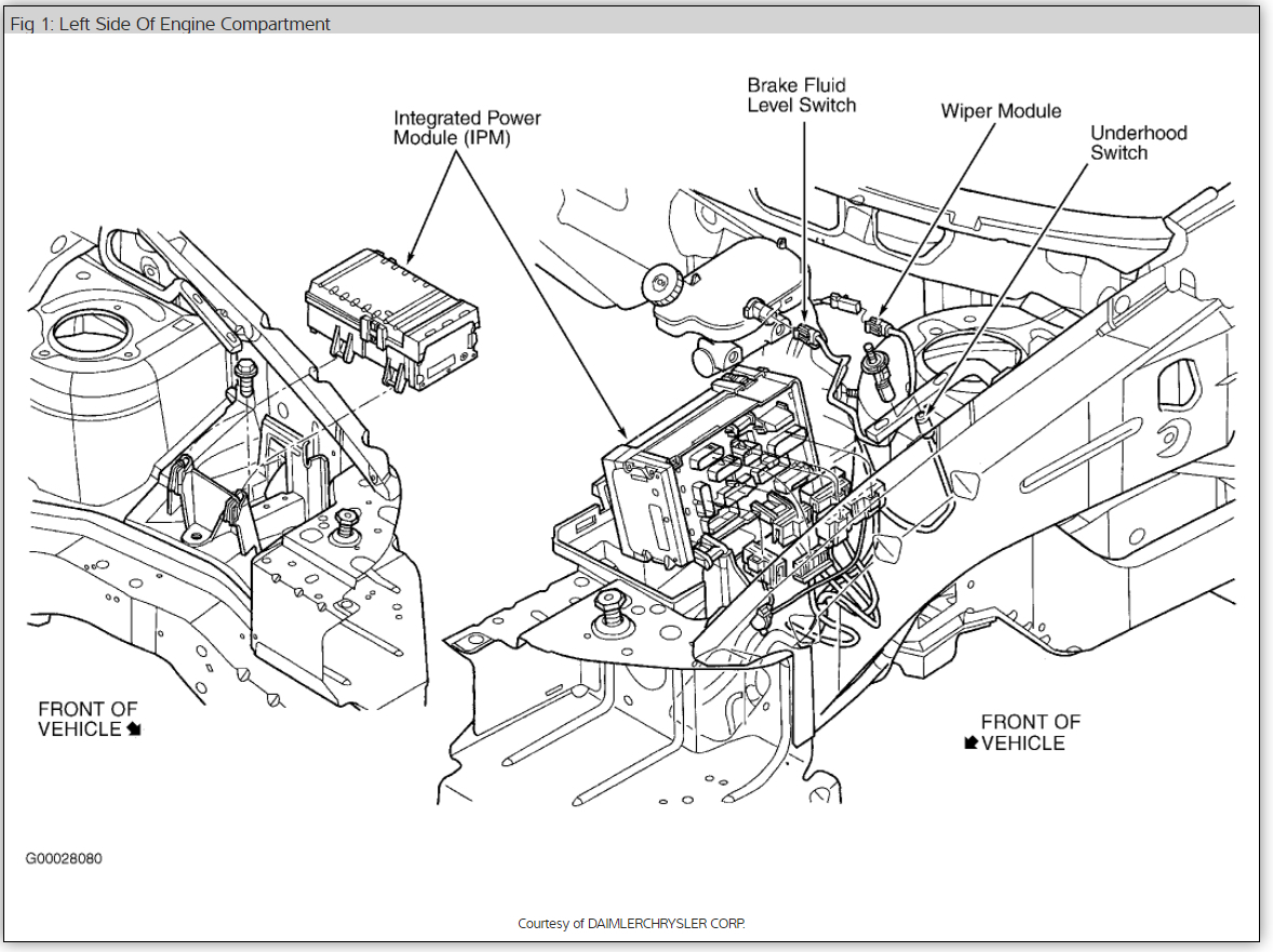 Chrysler Town And Country Fuel Pump Diagram
