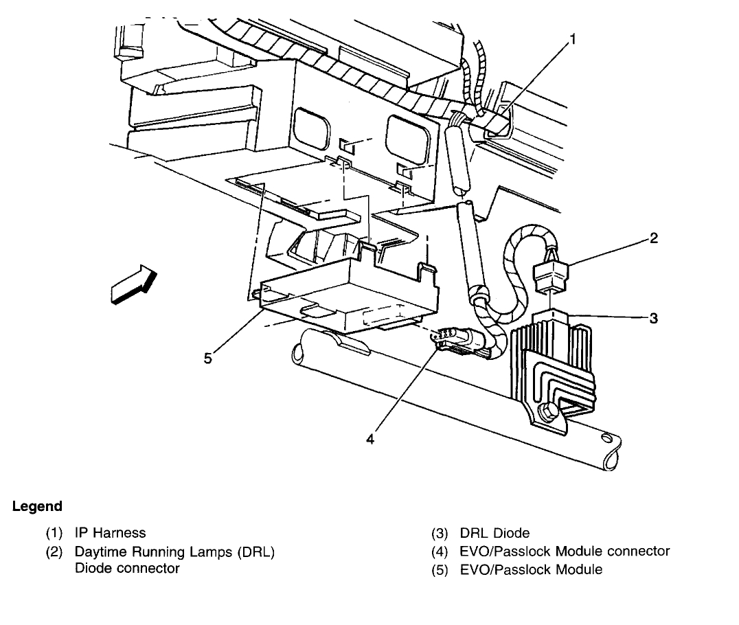 Chevy S10 Passlock Wiring Diagram