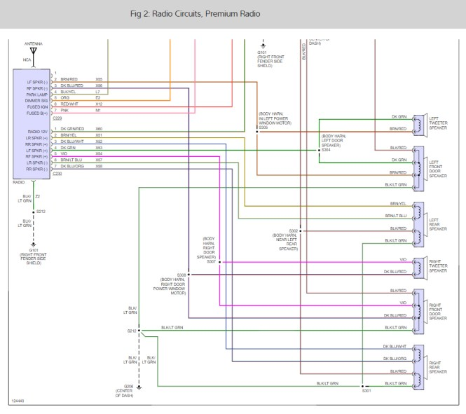 1998 Dodge Dakota Stereo Wiring Diagram. 1998 Dodge Dakota ...