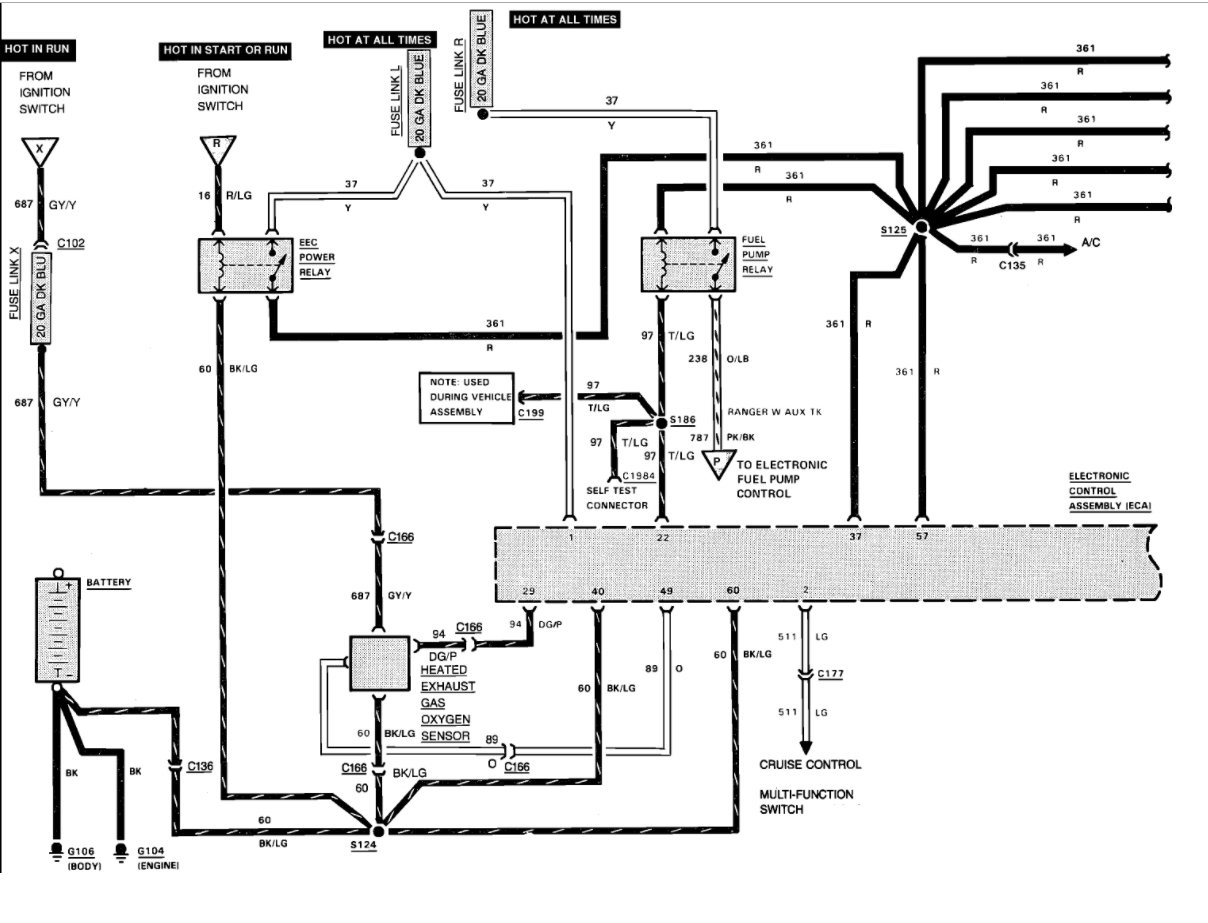 Fuel Pump Circuit I Have A Code Reader And It Says No