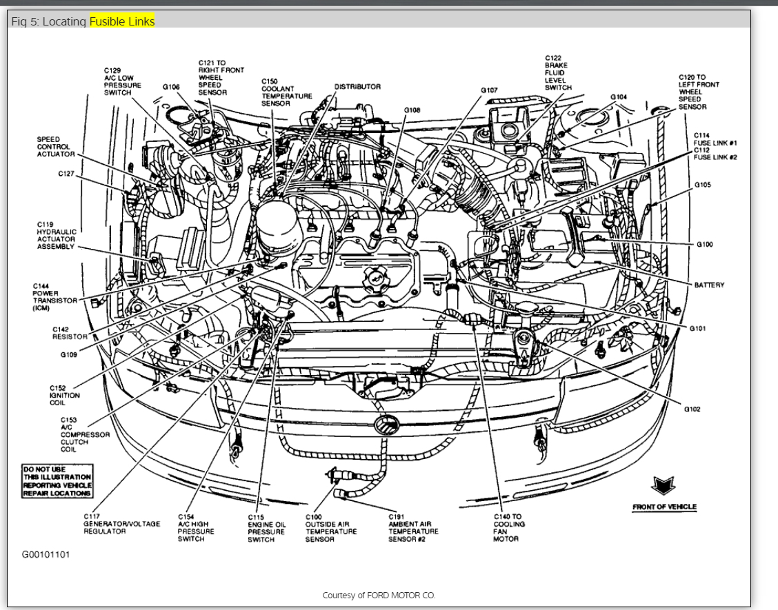 Mercury Grand Marqui Engine Diagram