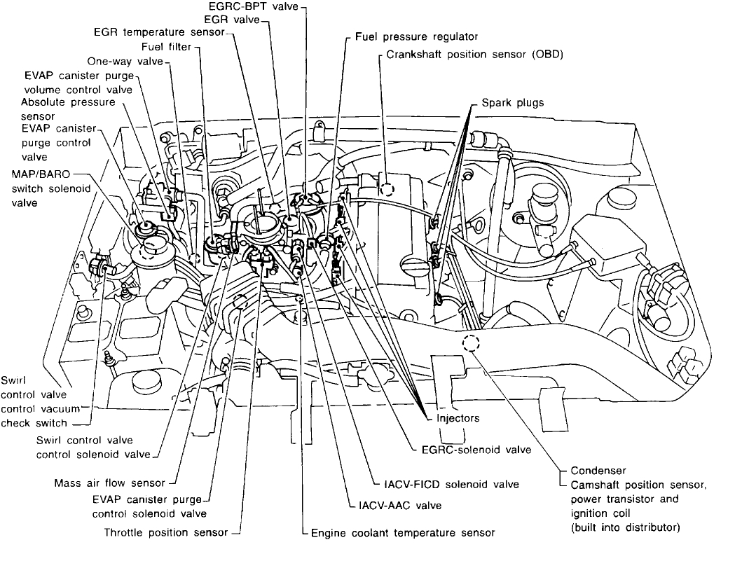 Crankshaft Position Sensor A Circuit Engine Mechanical