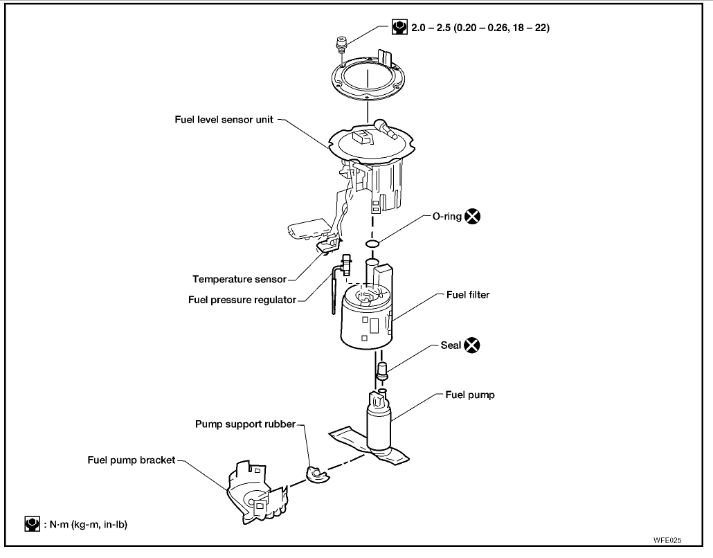 Fuel Pressure Regulator Engine Mechanical Problem 4 Cyl