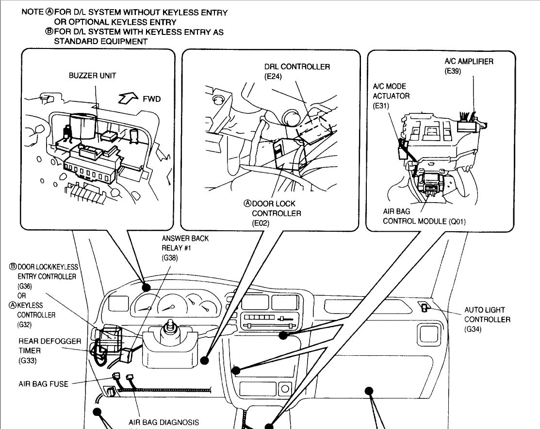 Suzuki Grand Vitara Fuse Box Diagram