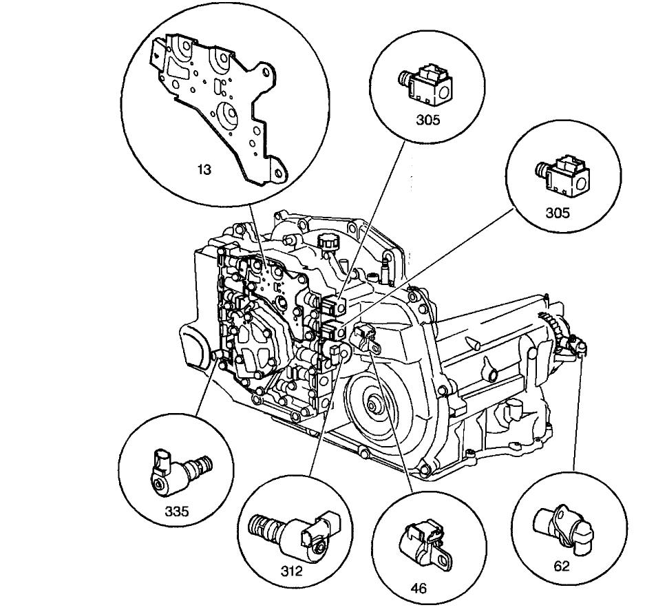 Array chevy cavalier trac off light transmission problem chevy cavalier rh 2carpros