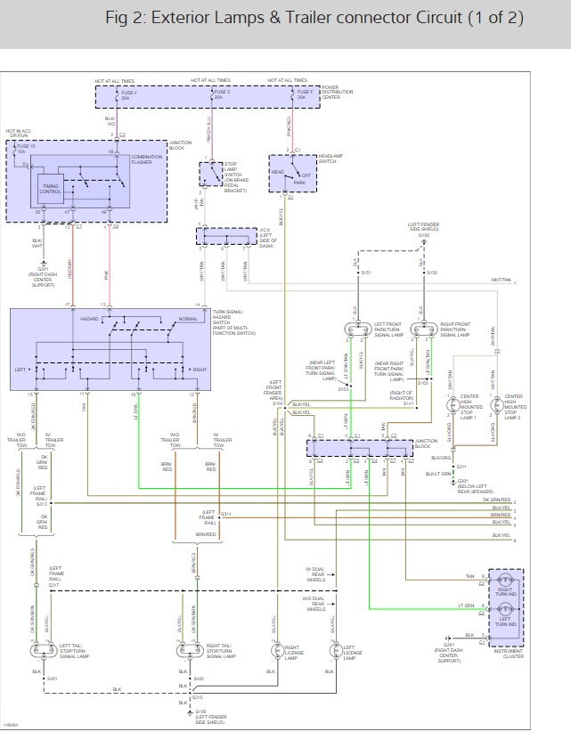 tail light wiring diagrams please needing to rewire a