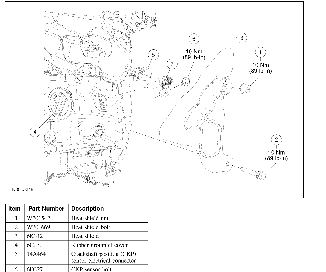 Ford F150 Bank 2 Sensor 1 Location