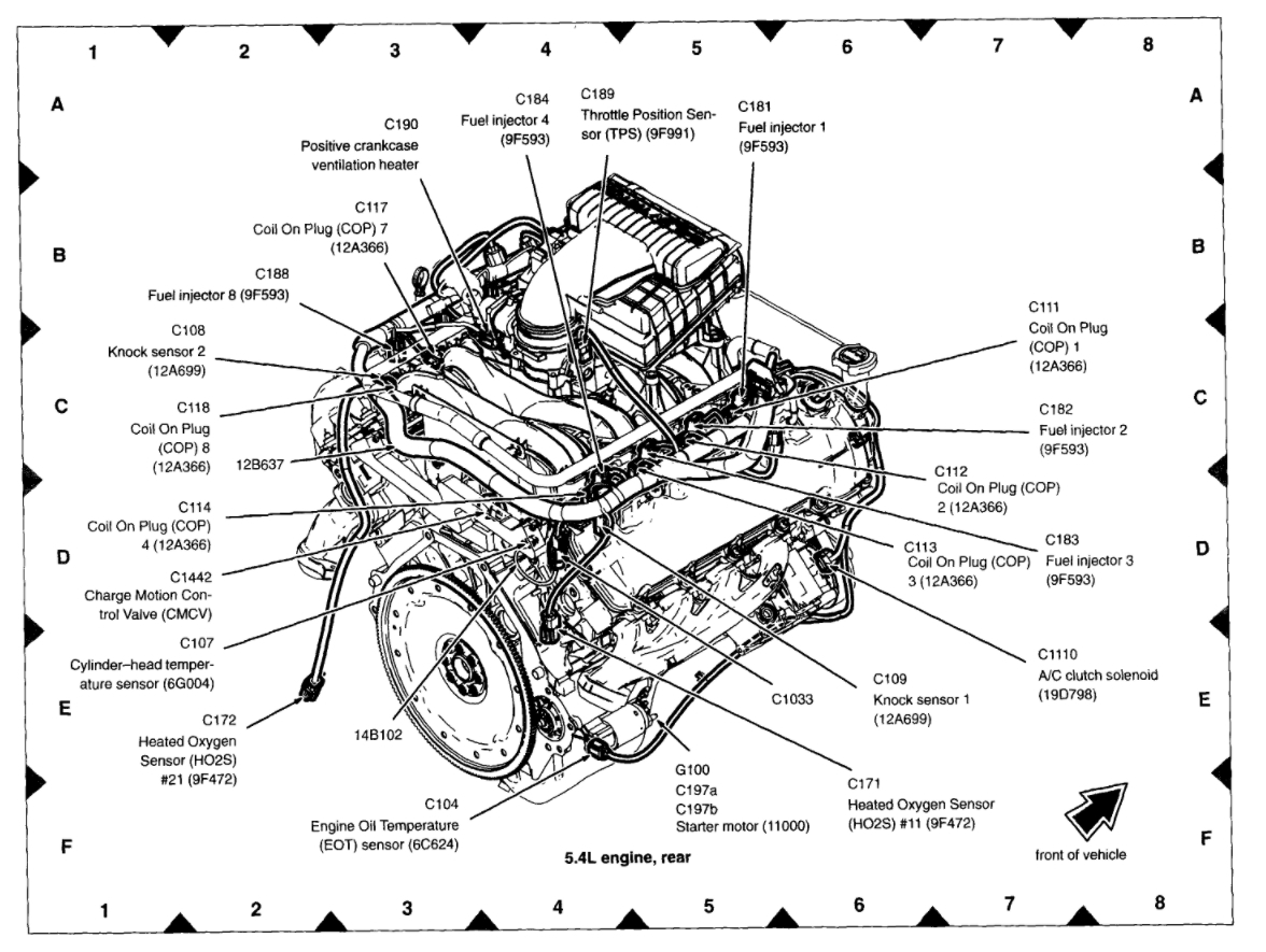 5 4 Triton Engine Diagram