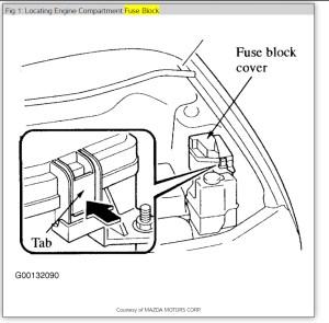 2001 Mazda Miata Fuel Pump Relay Location   Mazda Cars